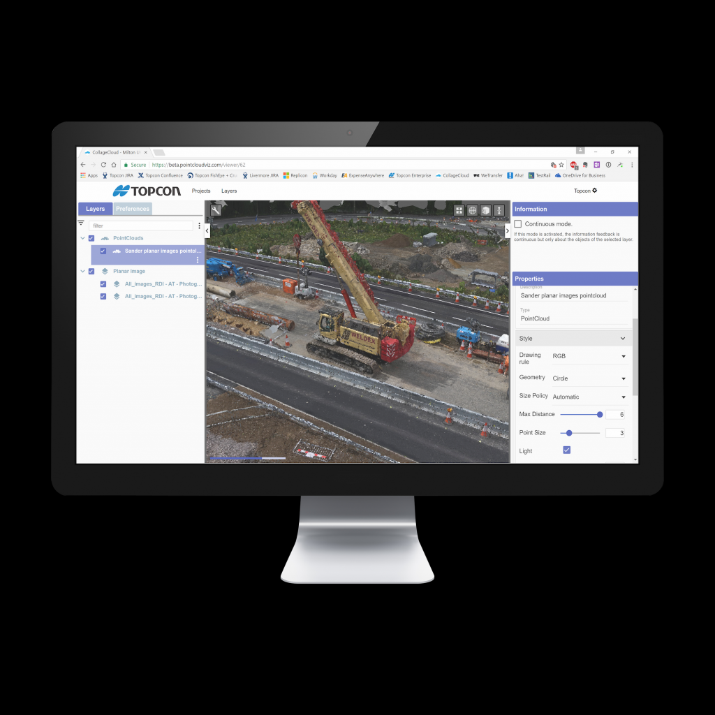 TOPCON ANNOUNCES NEW WEB-BASED SERVICE FOR MASS DATA PROCESSING