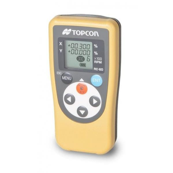 Topcon RC-60 Remote Control For RL-SV2S Dual Grade Rotating Laser Level