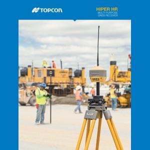 Topcon HiPer HR GNSS Receiver Brochure