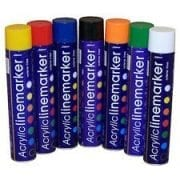 Survey Equipment Consumables Acrylic Spray Marker and Temporary Spray Marker