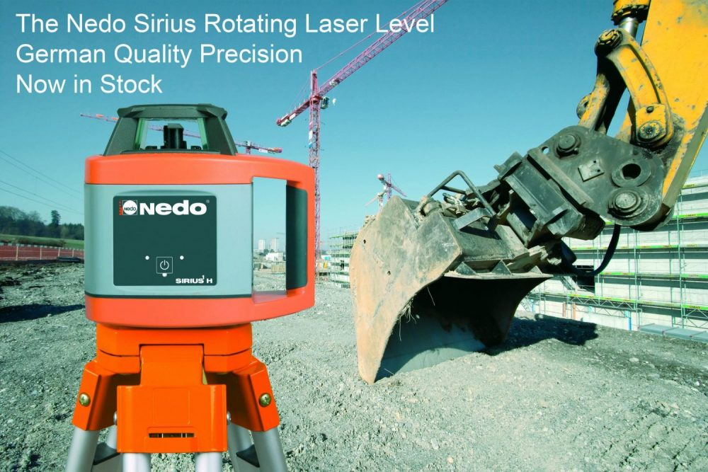 Nedo Sirius H Laser Level Slide