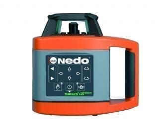 Nedo Sirius HV Green Beam Laser Level d