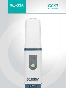 Sokkia GCX3 GPS Receiver Brochure