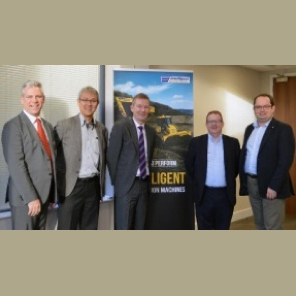 Topcon announces partnership with Marubeni-Komatsu