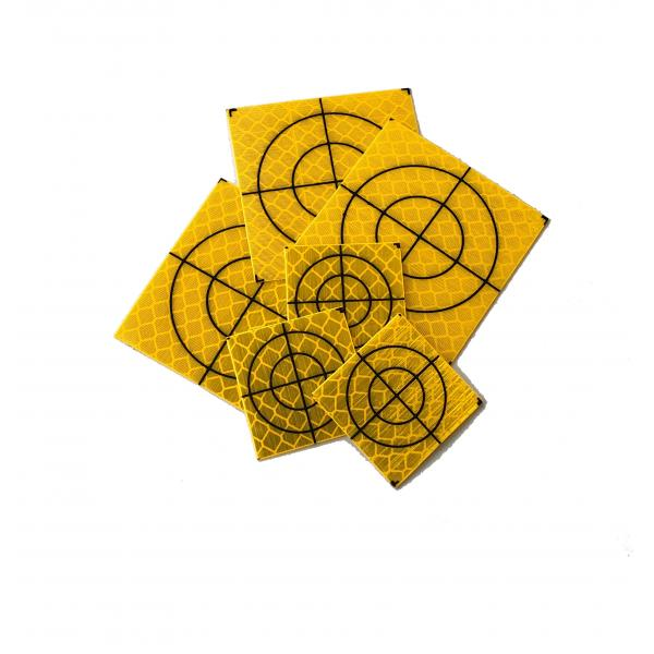 Yellow Retro Targets
