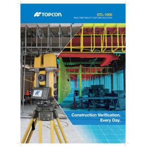 Topcon GTL1000 Scanning Total Station Brochure
