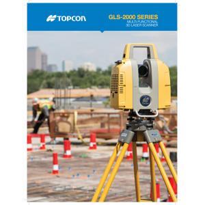 Topcon GLS2000 Laser Scanner Brochure