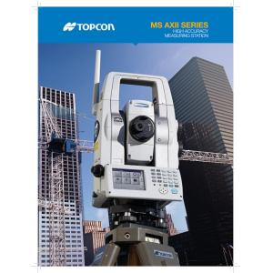 Topcon MS Series Total Station Brochure