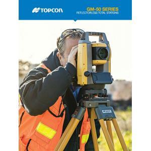 Topcon GM50 Total Station Brochure