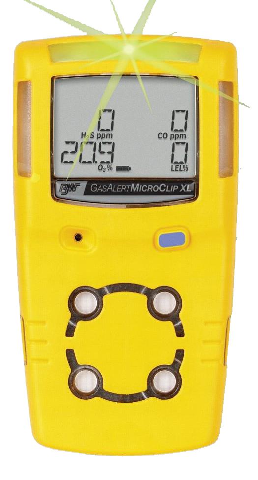 Honeywell BW Gas Alert Microclip XL