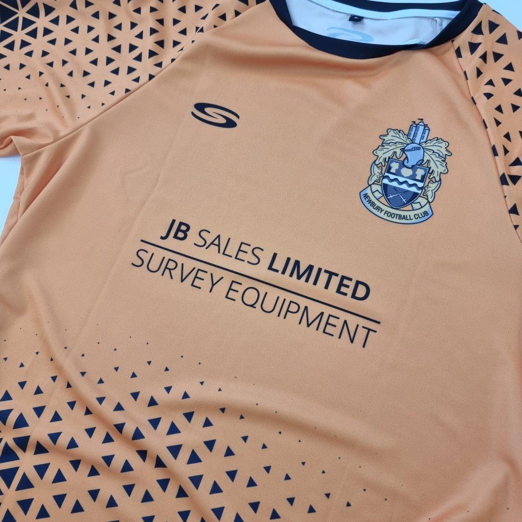JB Sales Ltd Sponsor Newbury FC